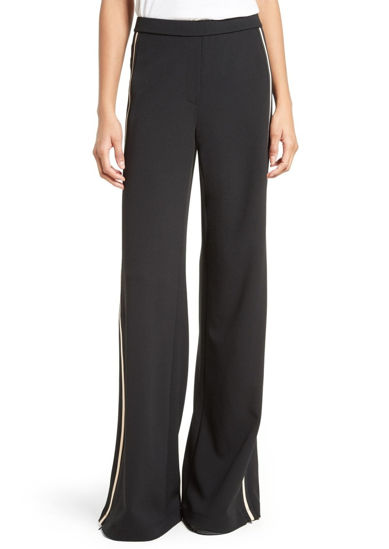 Tracy Reese Wide Leg Track Pants