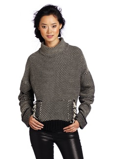 Tracy Reese Women's 3/4 Cowl Neck Sweater