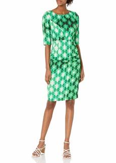 Tracy Reese Women's 3/4 Sleeve Sheath Dress
