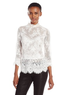 Tracy Reese Women's 3/4 Victorian Blouse