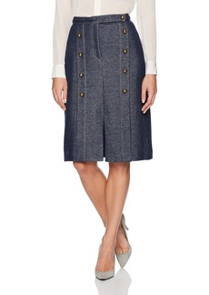 Tracy Reese Women's Brass Button Skirt in
