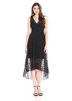 Tracy Reese Women's Burnout Lsoft Lace Dress