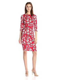 Tracy Reese Women's Button Sleeve T Dress
