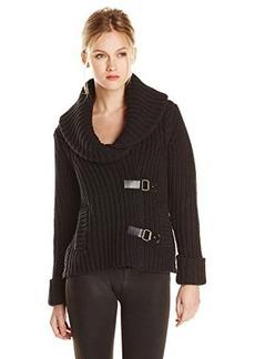 Tracy Reese Women's Chunky Toggle Cardigan Sweater