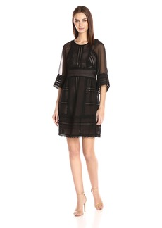Tracy Reese Women's Combo Dress  M