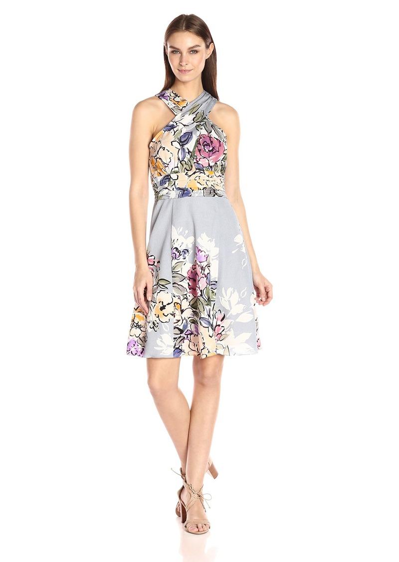 Criss Cross Halter Dress