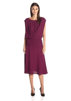 9680e7a948 Tracy Reese Tracy Reese Open Sleeve Backless Linen Blend Dress