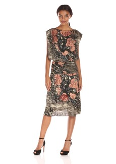 Tracy Reese Women's Draped Bateau Dress