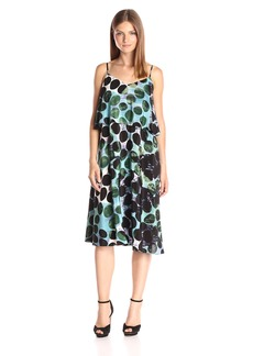 Tracy Reese Women's Flare Flounce Tank Dress