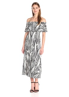 Tracy Reese Women's Flared Flounce Dress