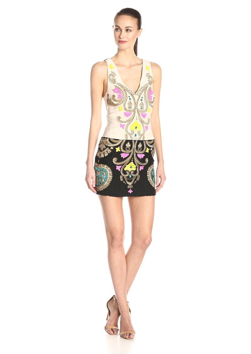 Tracy Reese Tracy Reese Women's Floral Embroidered Linen ...