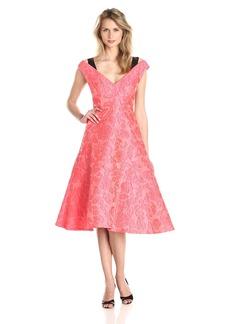 Tracy Reese Women's Floral Gossamer Cloque Dress