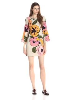 Tracy Reese Women's Flounce-Sleeve Mini T Dress