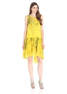Tracy Reese Women's Flounced Flyaway Dress