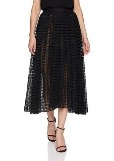 Tracy Reese Women's Full Midi Skirt