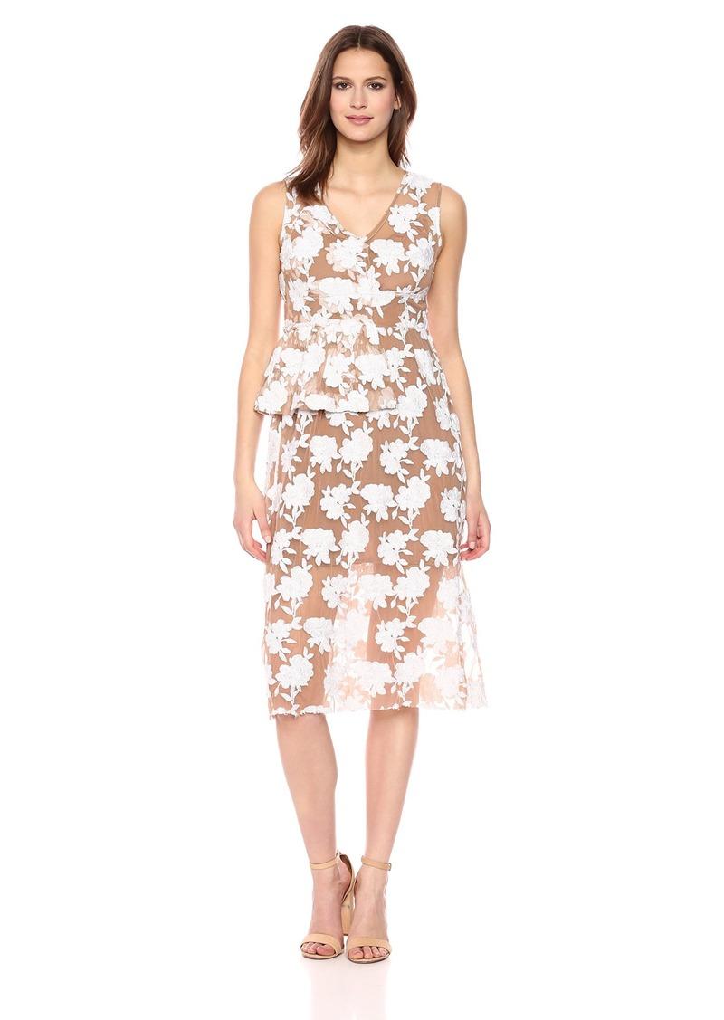 Tracy Reese Women's Half Peplum Dress