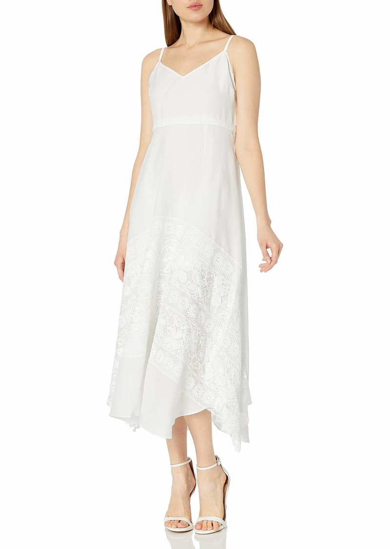 Tracy Reese Women's Lace Applique Slip Dress