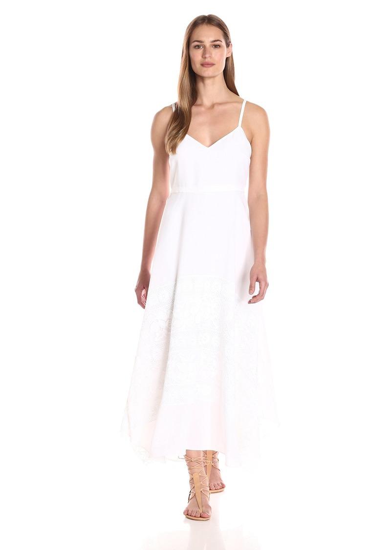 Tracy Reese Women's Lace Applique Slip Dress