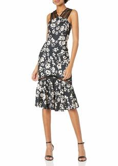 Tracy Reese Women's Lace Combo Dress