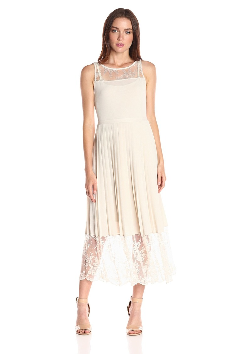 Tracy Reese Women's Lace Inset Dress