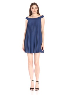 Tracy Reese Women's Off-Shoulder Flyaway Dress