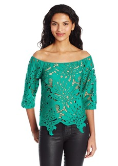 Tracy Reese Women's Off-Shoulder Top  M