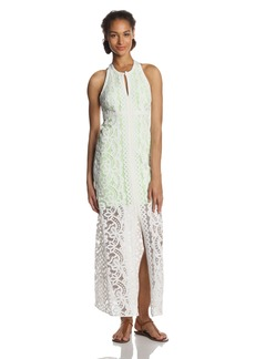 Tracy Reese Women's Placement Lace Sleeveless Maxi Dress