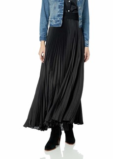 Tracy Reese Women's Pleated Maxi Skirt