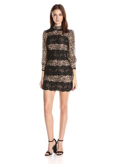 Tracy Reese Women's Puff Sleeve Shift Dress