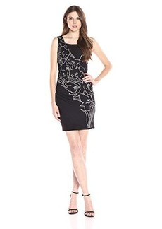Tracy Reese Women's Ruched Combo Dress