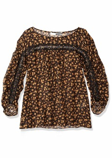 Tracy Reese Women's Shirred Blouse in  XS