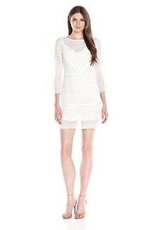 Tracy Reese Women's Short Sleeve Shift Dress