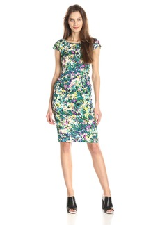 Tracy Reese Women's Silk Floral Print Sheath Dress