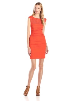 Tracy Reese Women's Silk Inset Sheath Dress