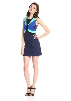 Tracy Reese Women's Sleeveless Color-Block Dress