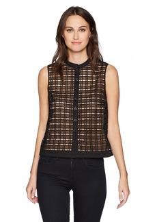 Tracy Reese Women's Sleeveless Shirt  L