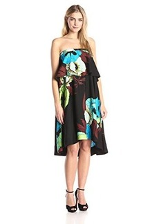 Tracy Reese Women's Strapless Flounce Dress