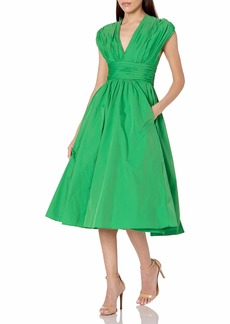 Tracy Reese Women's Tafetta Fit and Flare Dress