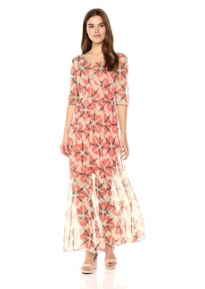 Tracy Reese Women's Wasp Silk Maxi Dress
