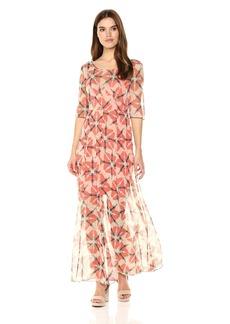 Tracy Reese Women's Wasp Silk Maxi Dress