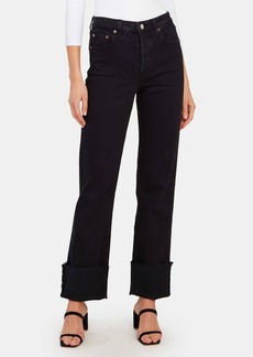 TRAVE Berit High Rise Cuff Straight Leg Jeans - 30 - Also in: 24, 31, 27, 25, 32, 26, 28