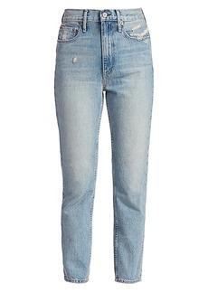 TRAVE Kai High-Rise Cigarette Jeans