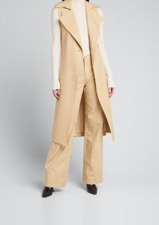 TRAVE Chelsea Sleeveless Trench Coat