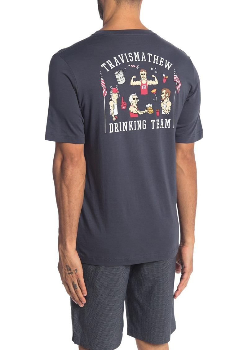 Travis Mathew Bromerica Crew Neck Shirt