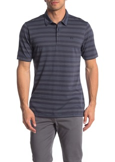 Travis Mathew Casual Friday Striped Performance Polo
