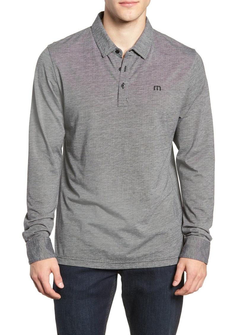Travis Mathew Gir Pin Dot Polo Shirt