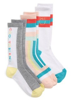 Treasure & Bond Cool To Be Kind Crew Socks (Toddler, Little Kid & Big Kid)