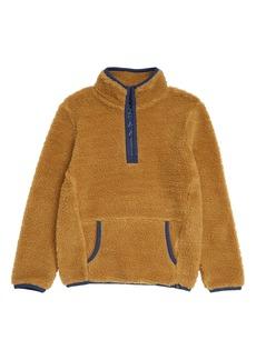 Treasure & Bond Cozy Fleece Half Zip Pullover (Little Boy & Big Boy)