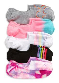 Treasure & Bond Kids' Rainbow 5-Pack Liner Socks