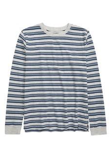 Treasure & Bond Kids' Stripe Long Sleeve T-Shirt (Little Boy & Big Boy)